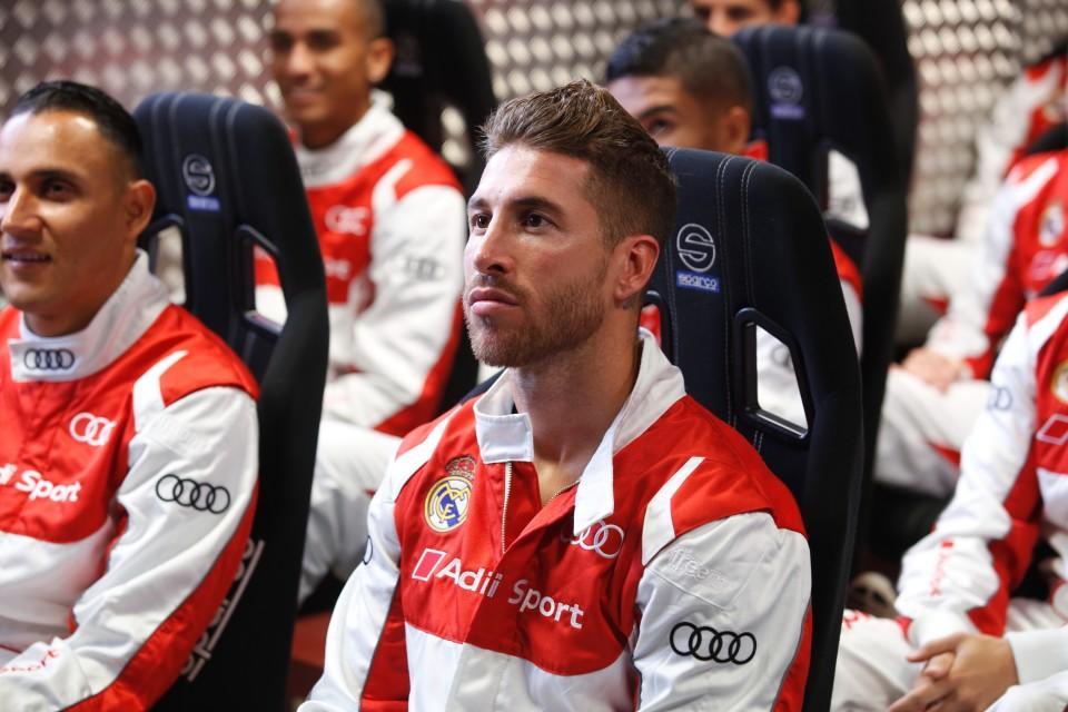 Sergio Ramos karting
