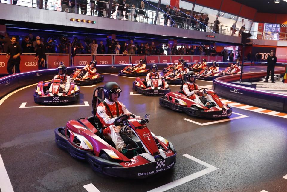 Real Madrid karting 3