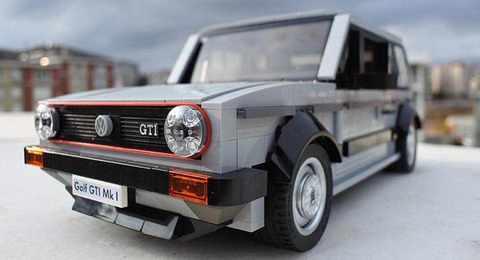VW Golf GTI Mk1 de Lego