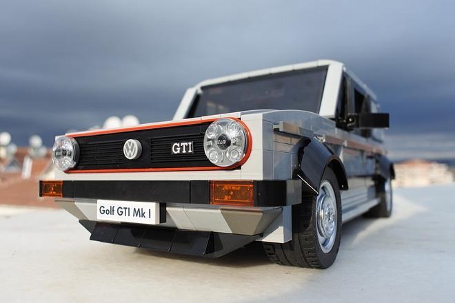 VW Golf GTI Mk1 de Lego 2