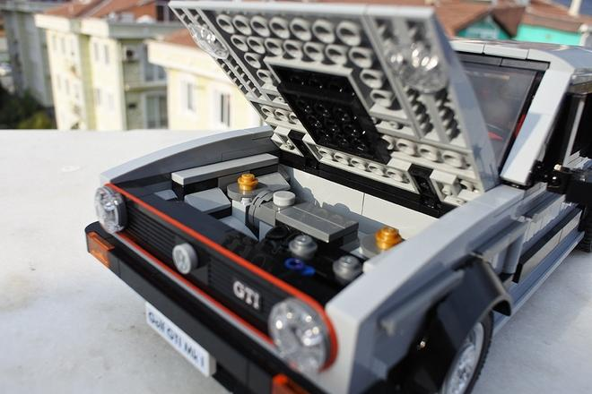 VW Golf GTI Mk1 de Lego 3
