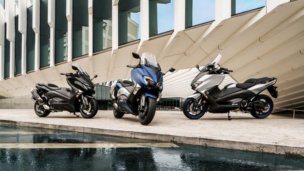 Nuevo Yamaha TMax 2017, en el EICMA 2016