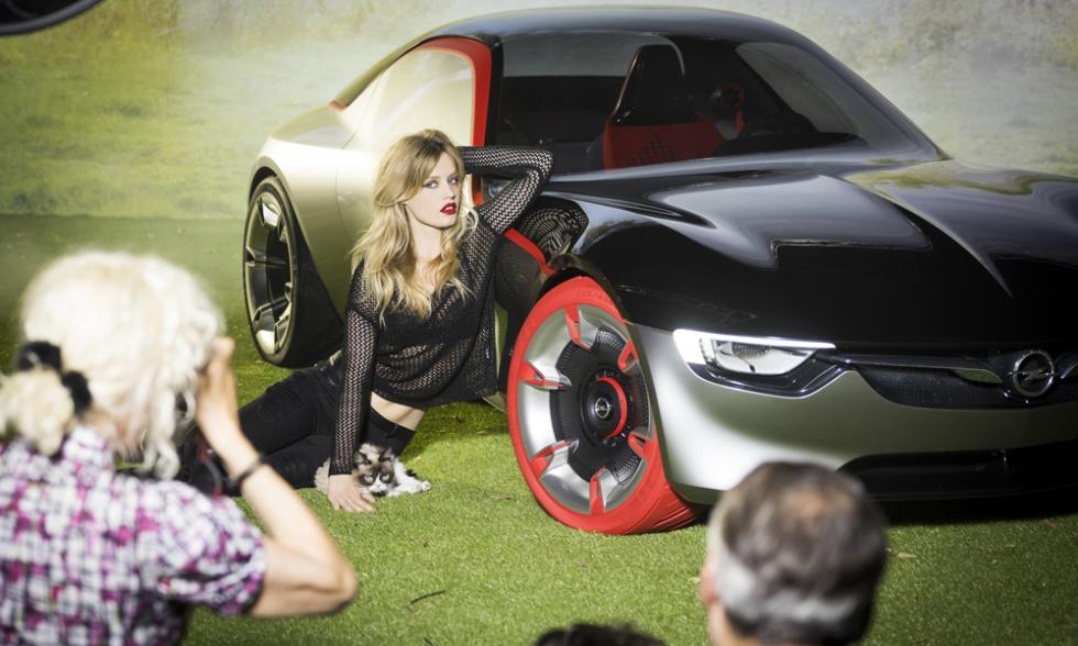 Georgia may jagger opel gt