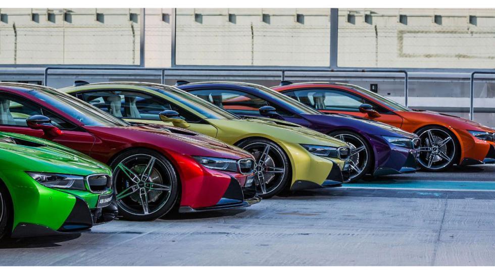 Coleccion BMW i8