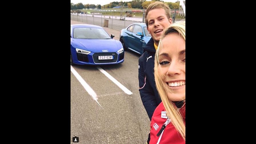 Mikaela Ahlin-Kottulinsky, novia de Max Verstappen.