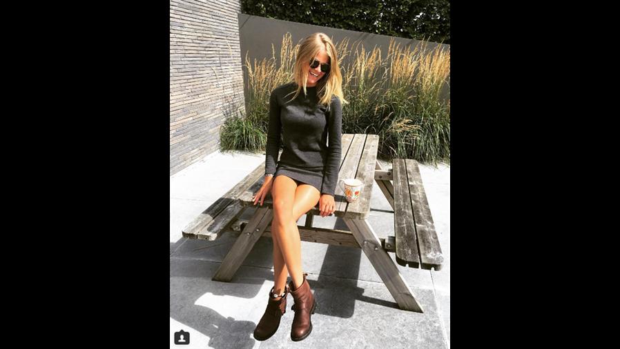 Seychelle de Vries, novia de Max Verstappen.