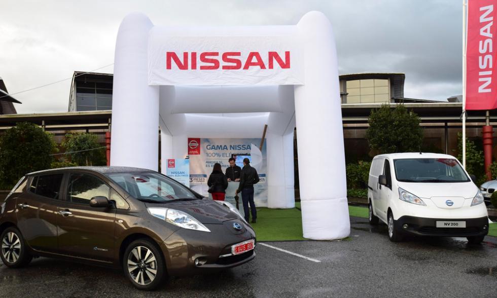 Nissan Zero Emission Tour nv200