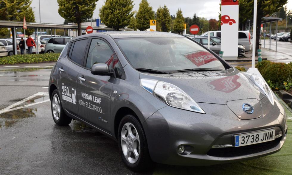 Nissan Zero Emission Tour asturias