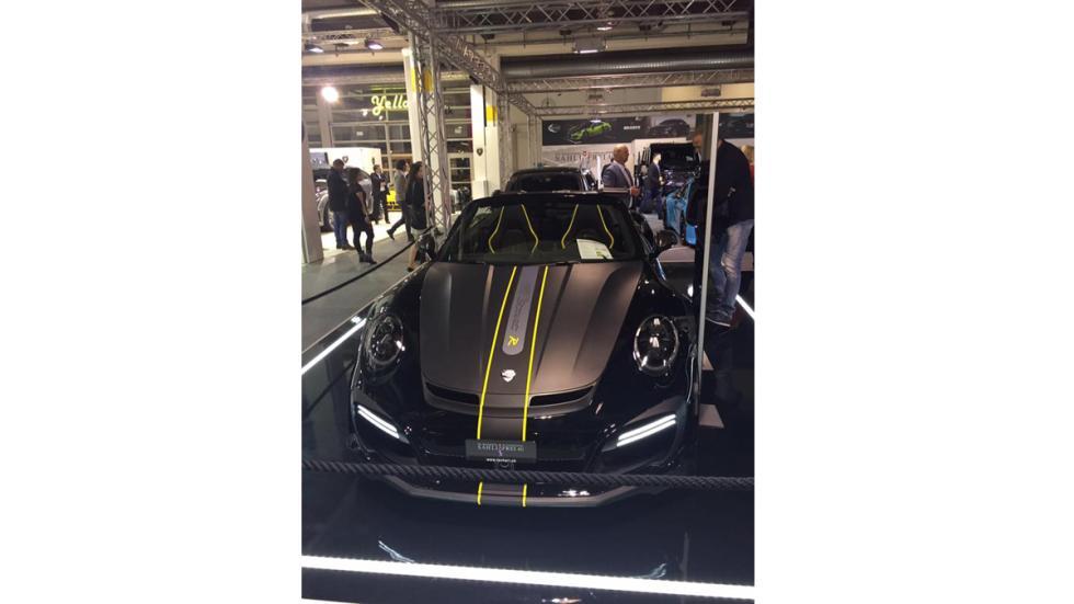 Techart GTstreet R Cabriolet morro