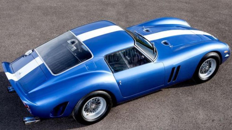 Ferrari 250 GTO de 1962 cenital