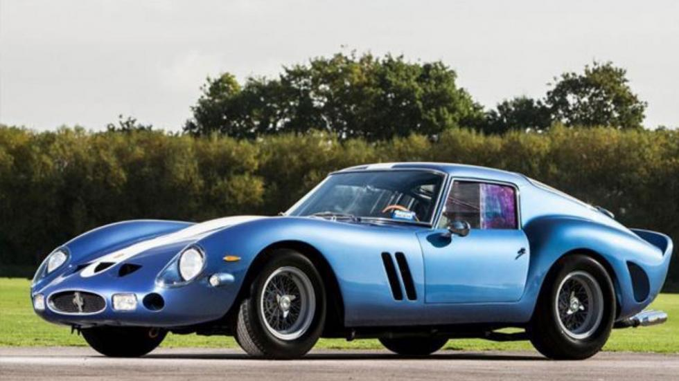 Ferrari 250 GTO de 1962 frontal