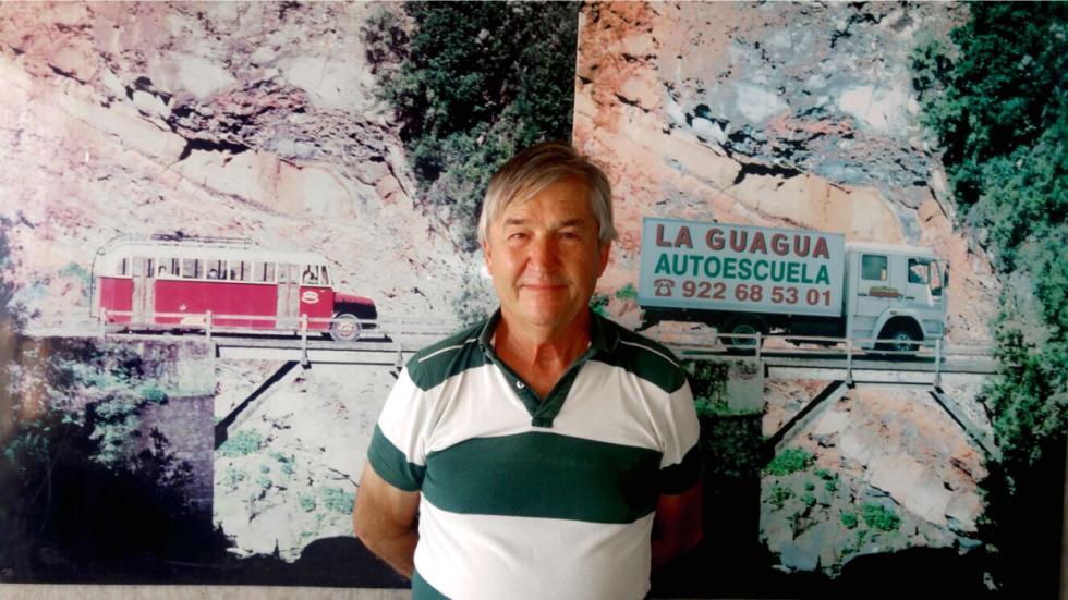 Jesús Menéndez, fundadador de Autoescuelas LaGuagua