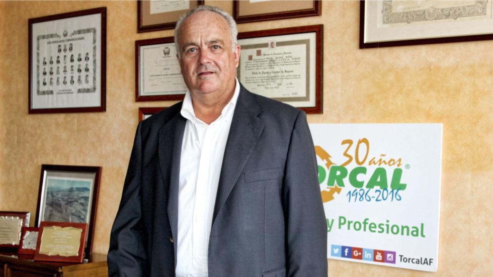 Miguel Aldana, fundador de las Autoescuelas Torcal: