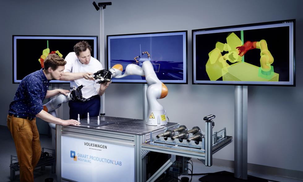 robot inteligente volkswagen smart