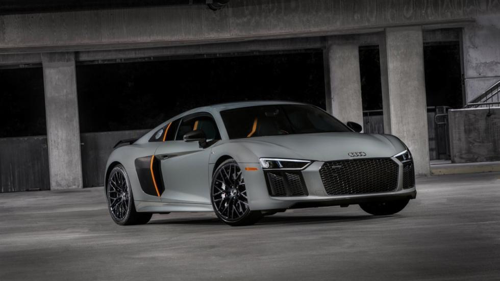 Imágenes novedades Salón Los Ángeles 2016 Audi R8 V10 plus Laser Lights