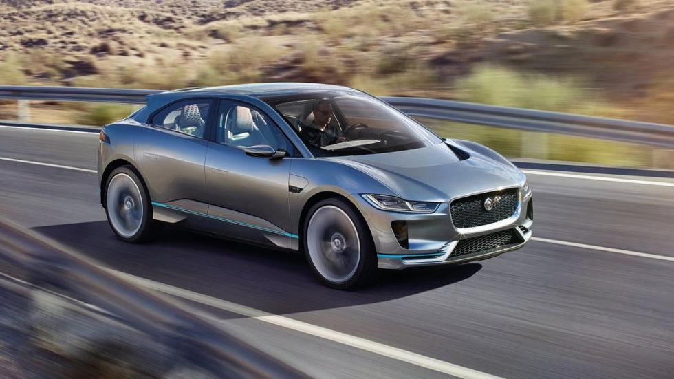 Imágenes novedades Salón Los Ángeles 2016 Jaguar I-PACE Concept