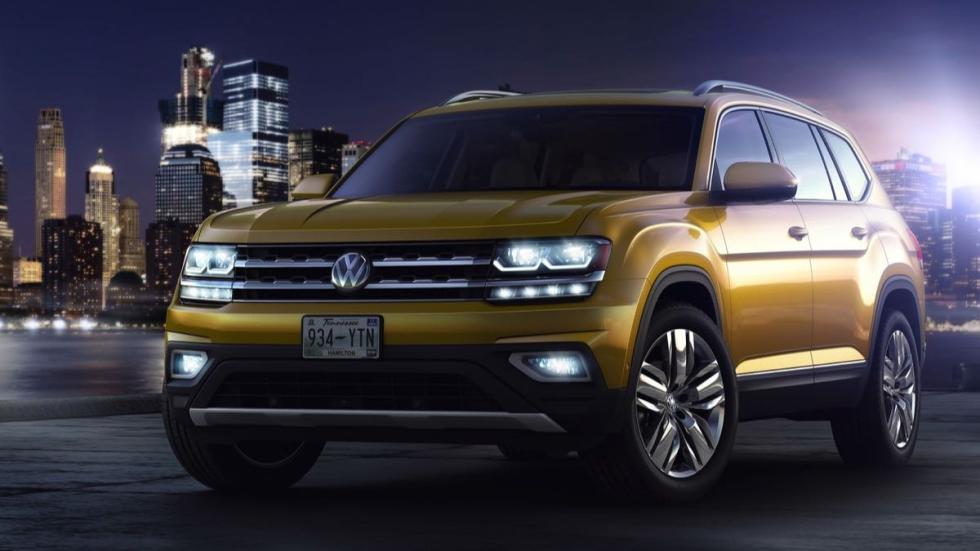 Imágenes novedades Salón Los Ángeles 2016 Volkswagen Atlas
