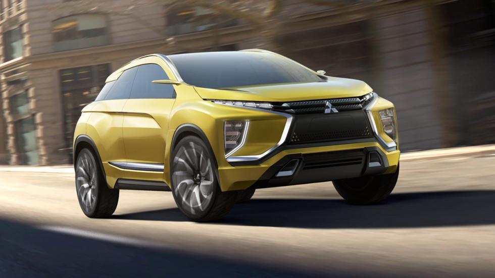 Imágenes novedades Salón Los Ángeles 2016 Mitsubishi eX Concept