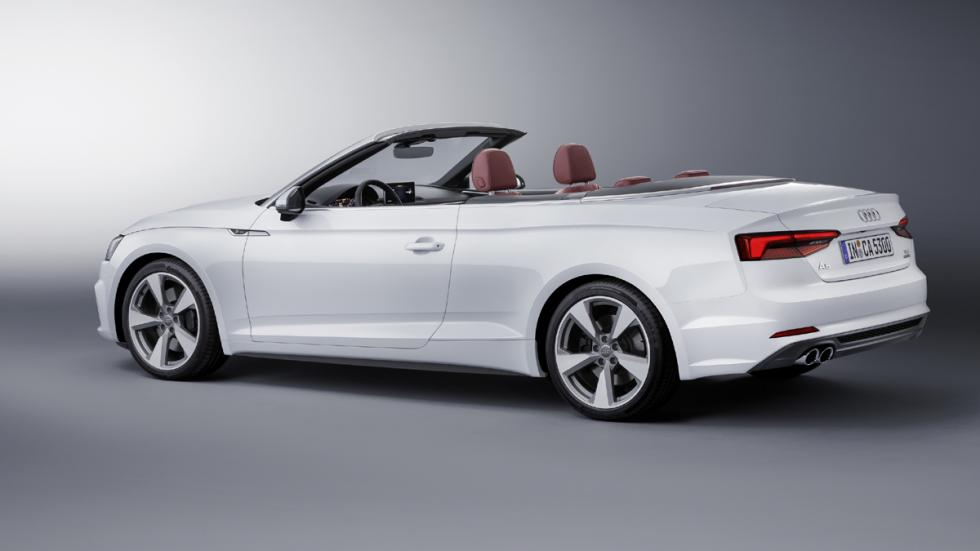 Audi A5 Cabrio 2017 trasera lateral
