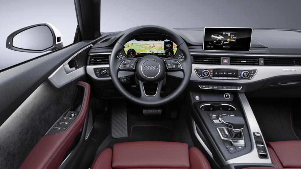 Audi A5 Cabrio 2017 interior
