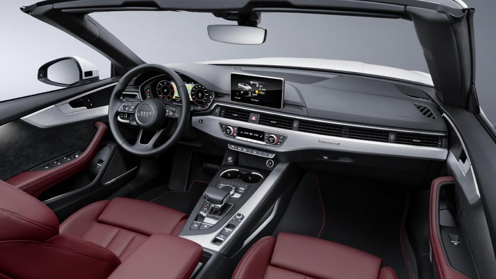 Audi A5 Cabrio 2017 habitáculo