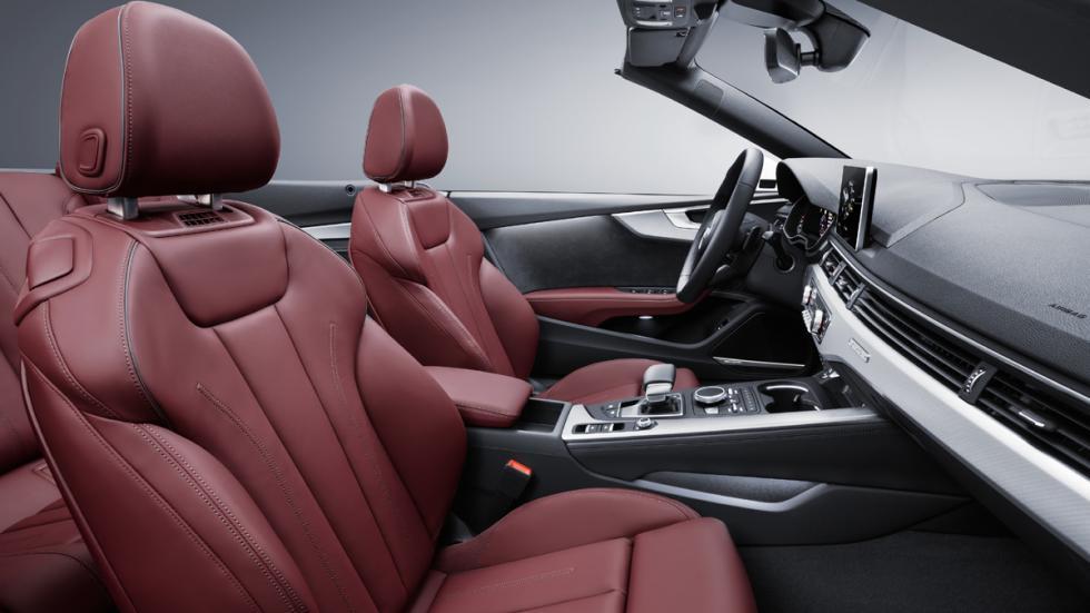 Audi A5 Cabrio 2017 habitáculo asientos