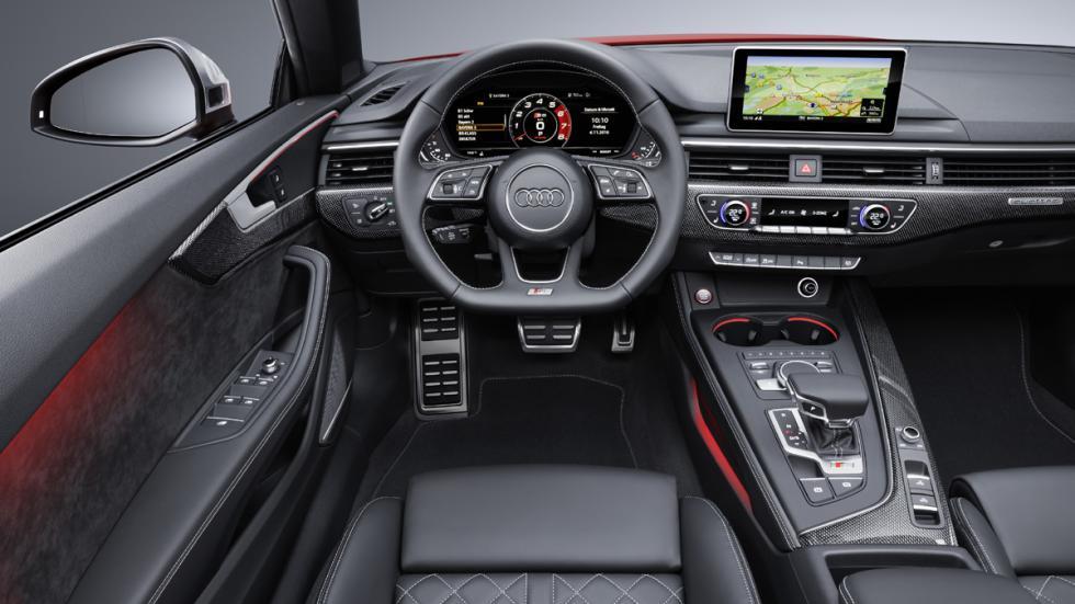 Audi S5 Cabrio 2017 salpicadero