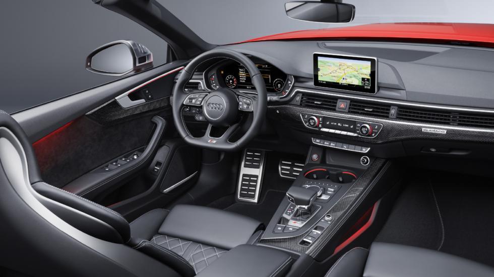 Audi S5 Cabrio 2017 habitáculo