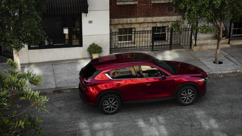 Mazda CX-5 2018 cenital