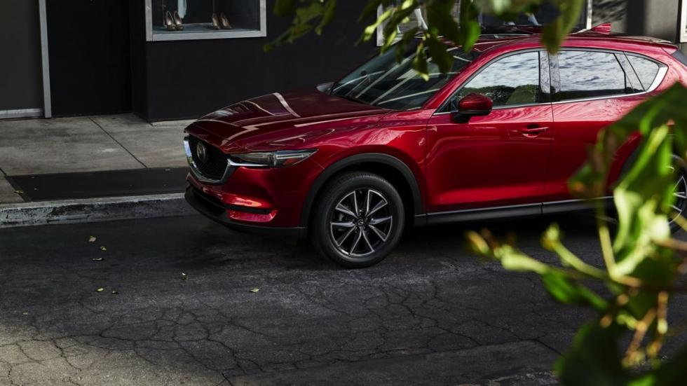 Mazda CX-5 2018 rueda frontal