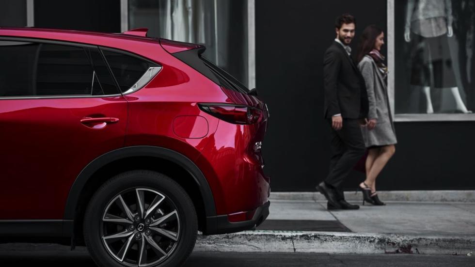 Mazda CX-5 2018 rueda trasera