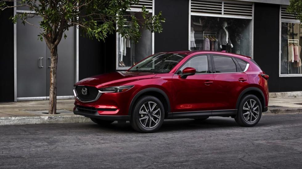 Mazda CX-5 2018 tres cuartos
