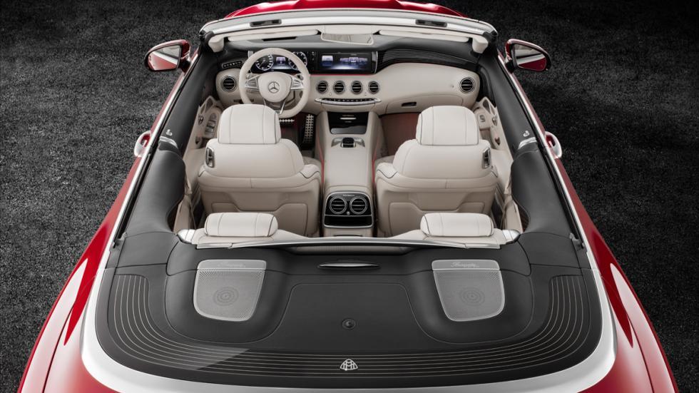 Mercedes-Maybach S650 Cabriolet superior habitáculo