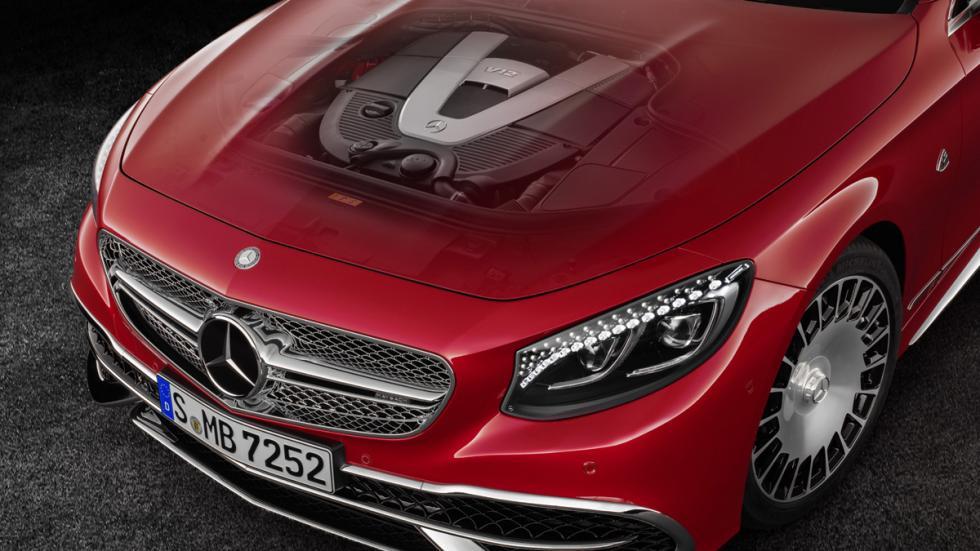 Mercedes-Maybach S650 Cabriolet motor V12