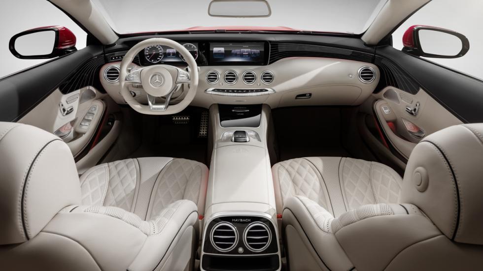 Mercedes-Maybach S650 Cabriolet habitáculo