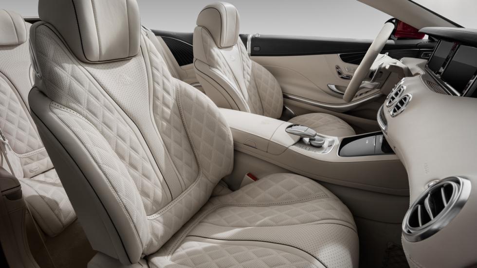 Mercedes-Maybach S650 Cabriolet asientos