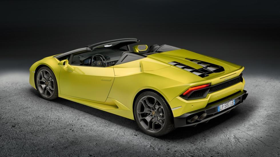 Lamborghini Huracán LP580-2 Spyder trasera