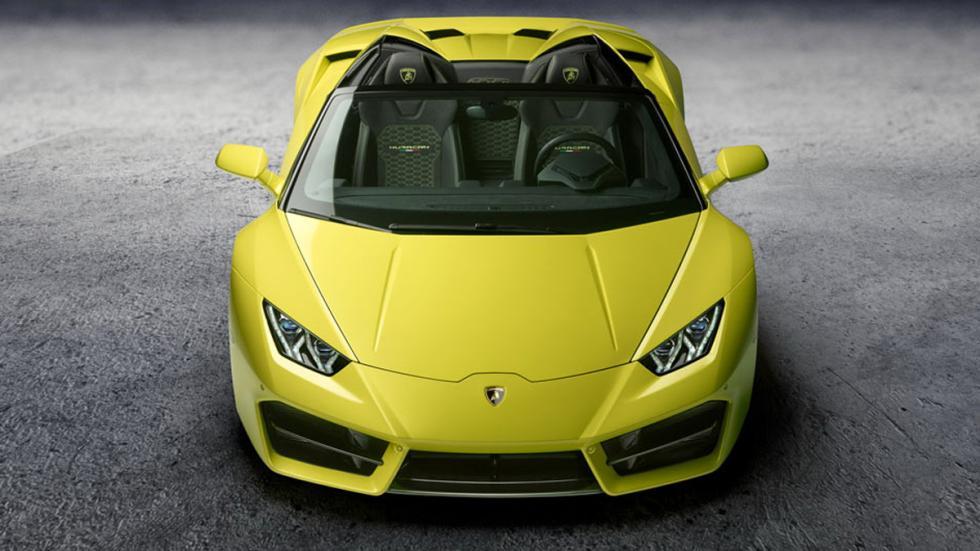Lamborghini Huracán LP580-2 Spyder morro