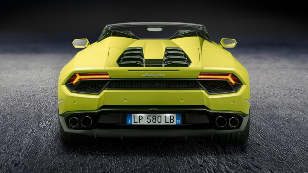 Lamborghini Huracán LP580-2 Spyder zaga