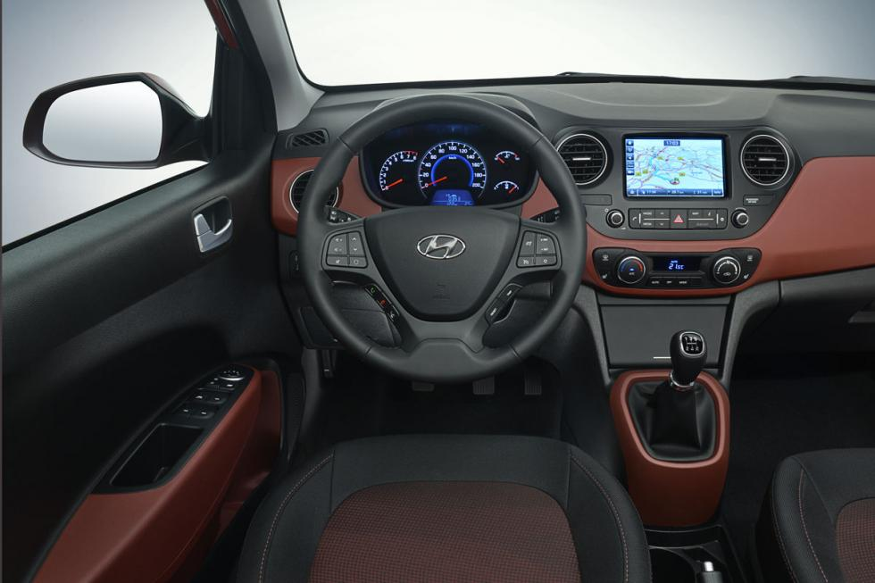 Nuevo Hyundai i10 interior