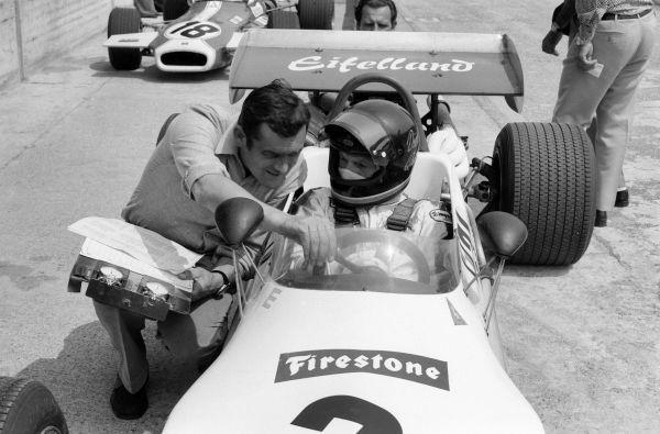Paul Rosche y Dieter Quester, 1971.