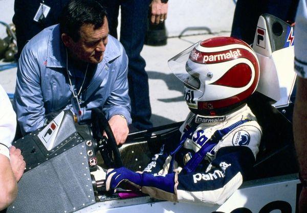 Paul Rosche and Nelson Piquet, 1984