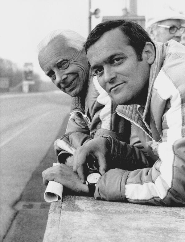 Paul Rosche y Alex von Falkenhausen (1967).