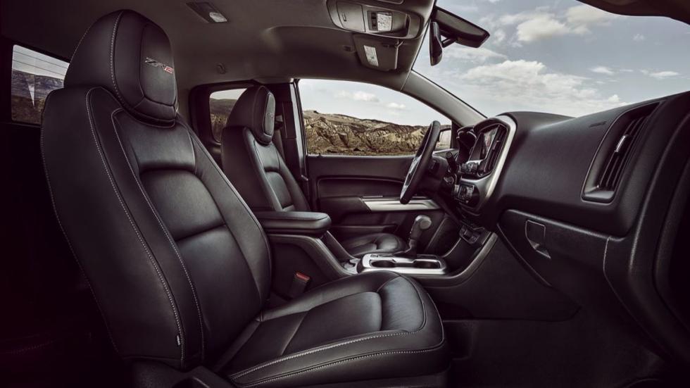 Chevrolet Colorado ZR2 asientos