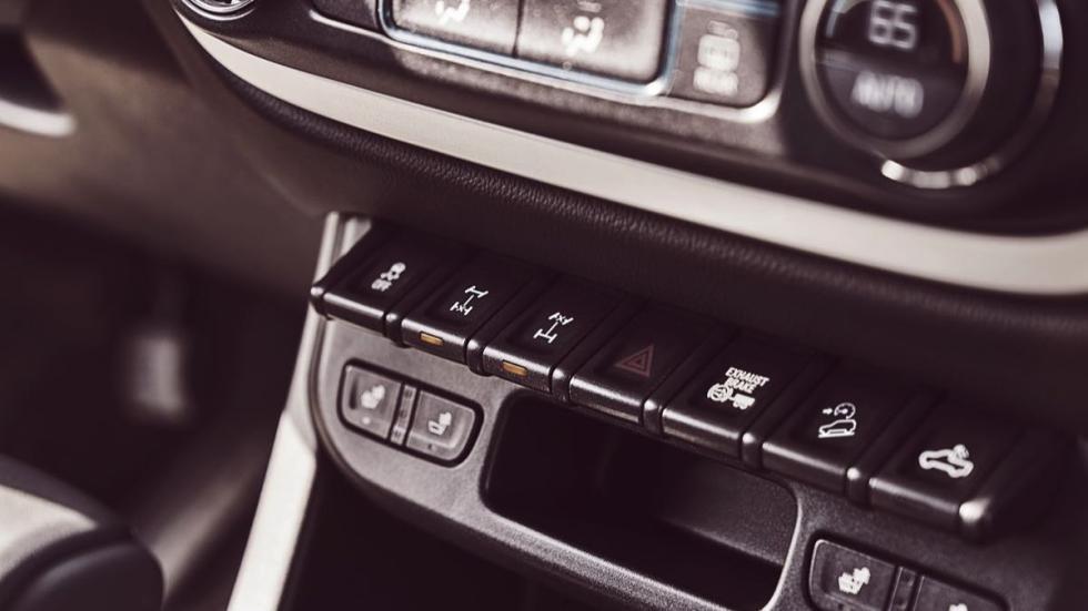 Chevrolet Colorado ZR2 botones