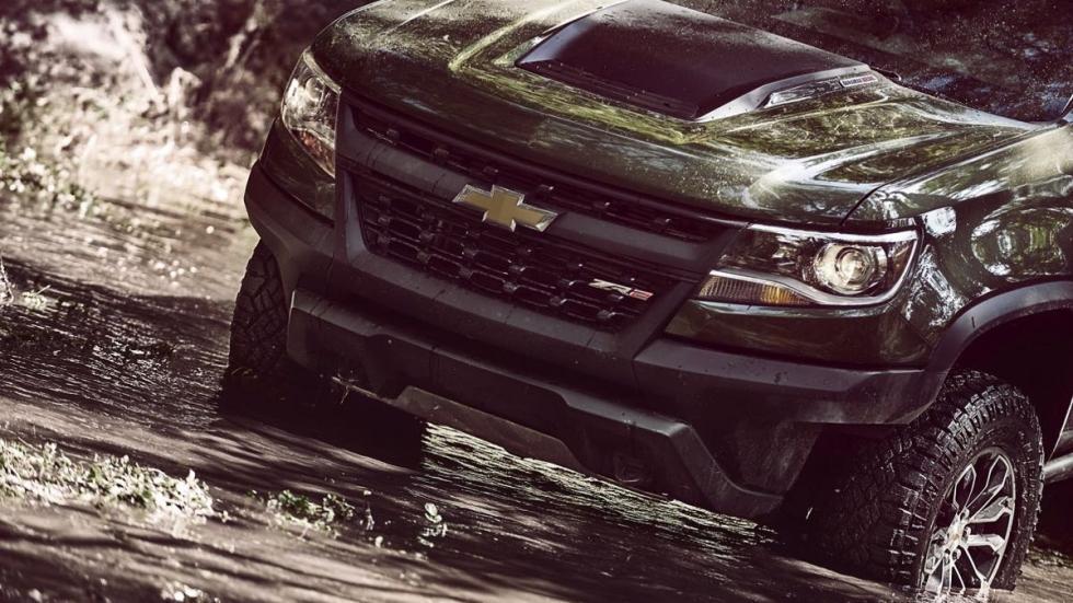 Chevrolet Colorado ZR2 frontal