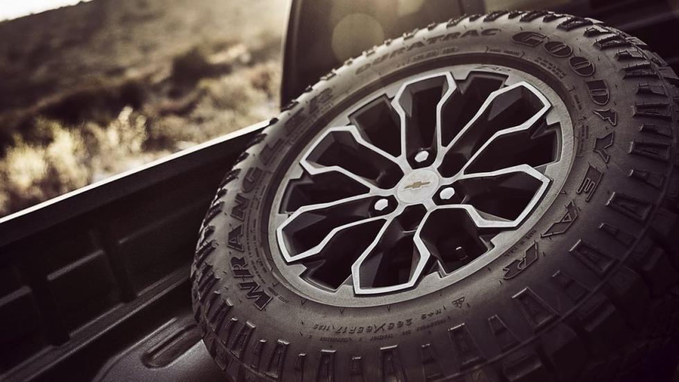 Chevrolet Colorado ZR2 rueda
