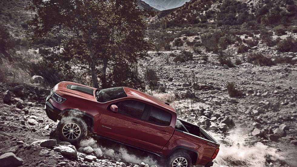 Chevrolet Colorado ZR2 dinamica 4