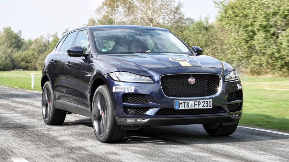 El Jaguar F-Pace ha sido segundo