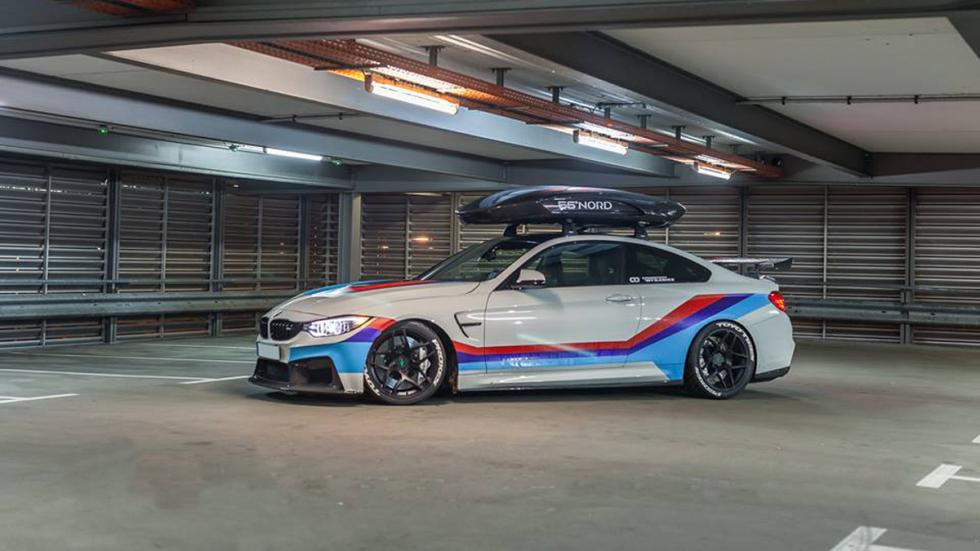 BMW M4R by Carbonfiber Dynamics perfil